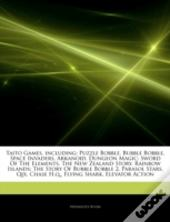 Articles On Taito Games, Including: Puzzle Bobble, Bubble Bobble, Space Invaders, Arkanoid, Dungeon Magic: Sword Of The Elements, The New Zealand Stor