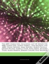 Articles On The 4400 Characters, Including: List Of Minor The 4400 Characters, Shawn Farrell, Tom Baldwin (The 4400), Diana Skouris, Maia Skouris, Mar