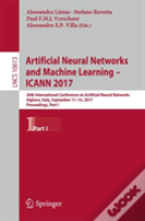 Artificial Neural Networks And Machine Learning -- Icann 2017