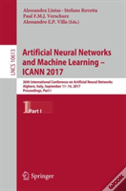 Wook.pt - Artificial Neural Networks And Machine Learning -- Icann 2017