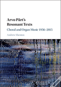 Wook.pt - Arvo Part'S Resonant Texts