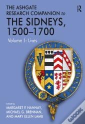 Ashgate Research Companion To The Sidneys, 1500-1700