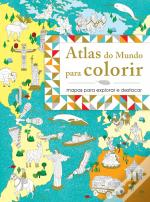 Atlas do Mundo para Colorir
