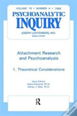 Wook.pt - Attachment Research And Psychoanalysis