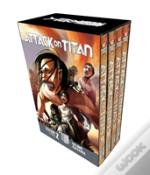 Attack On Titan Season 2 Manga Box Set