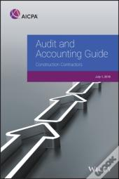 Audit And Accounting Guide: Construction Contractors, 2018