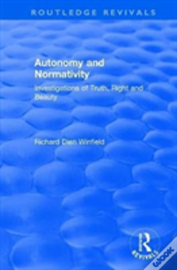 Wook.pt - Autonomy And Normativity