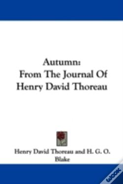 Wook.pt - Autumn: From The Journal Of Henry David Thoreau