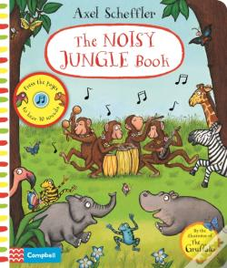 Wook.pt - Axel Scheffler Noisy Jungle Book