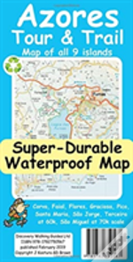 Azores Tour & Trail Super-Durable Map
