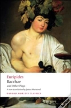 Wook.pt - Bacchae And Other Plays