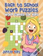 Back To School Word Puzzles