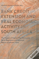 Bank Credit Extension And Real Economic Activity In South Africa