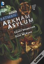 Batman Arkham Asylum 25th Anniversary Deluxe Edition Hc