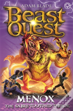 Beast Quest: Menox The Sabre-Toothed Terror