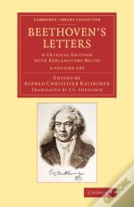 Beethoven'S Letters 2 Volume Set Beethoven'S Letters