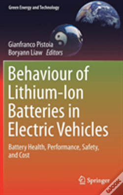 Wook.pt - Behaviour Of Lithium-Ion Batteries In Electric Vehicles