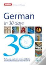 Berlitz Language: German In 30 Days