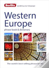 Berlitz Language: Western Europe Phrase Book & Dictionary