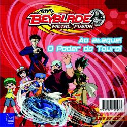 Wook.pt - Beyblade Metal Fusion - Ao Ataque! O Poder do Touro!