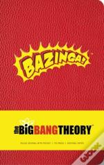 Big Bang Theory Hardcover Ruled Journal