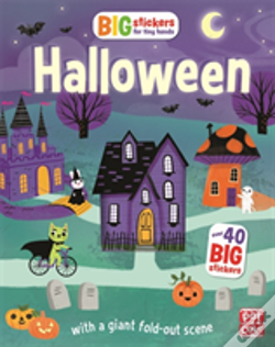 Wook.pt - Big Stickers For Tiny Hands: Halloween