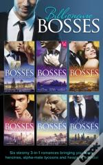 Billionaire Bosses Collection (Mills & Boon E-Book Collections)