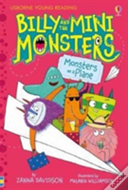 Wook.pt - Billy And The Mini Monsters Monsters On A Plane