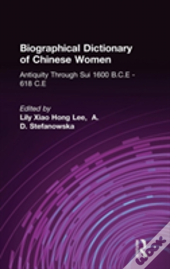 Biographical Dictionary Of Chinese Women