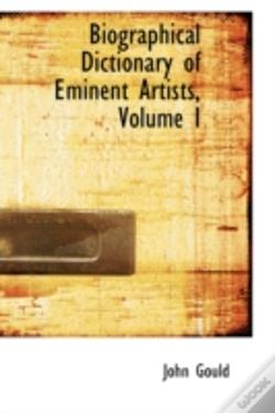 Wook.pt - Biographical Dictionary Of Eminent Artists, Volume I