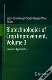 Biotechnologies Of Crop Improvement, Volume 3