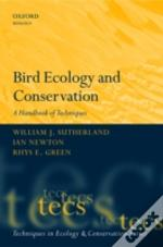 Bird Ecology And Conservation