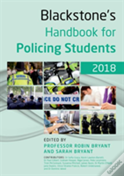 Wook.pt - Blackstone'S Handbook For Policing Students 2018