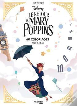 Wook.pt - Bloc Coloriages Mary Poppins