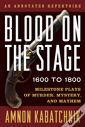 Blood On The Stage 1600 To 180cb