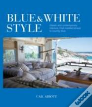 Blue And White Style
