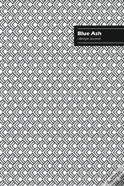 Wook.pt - Blue Ash Lifestyle Journal, Creative Write-In Notebook, Dotted Lines, Wide Ruled, Medium Size (A5), 6 X 9 Inch (White)