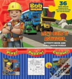 Bob The Builder Let'S Build It Activities 2-In-1 Jigsaw