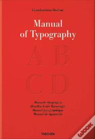 Bodoni, Manual of Typography - Manuale tipografico (1818)