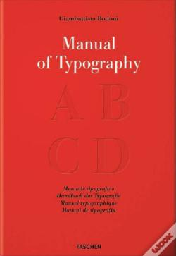 Wook.pt - Bodoni, Manual of Typography - Manuale tipografico (1818)