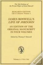Boswell'S 'Life Of Johnson'1776-1780