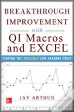 Breakthrough Improvement With Qi Macros And Excel: Finding The Invisible Low-Hanging Fruit