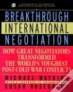 Breakthrough International Negotiation