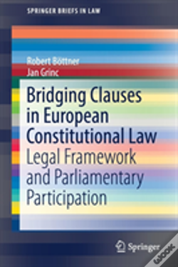 Wook.pt - Bridging Clauses In European Constitutional Law