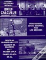 Brief Calculusstudent Solutions Manual