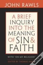 Brief Inquiry Into The Meaning Of Sin &