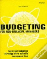 Budgeting For Non-Financial Managers