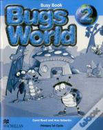 Bugs World 2 - Inglês 1 / 2 (1.Ciclo) - 2º ano - Busy Book