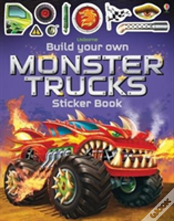 Wook.pt - Build Your Own Monster Trucks Sticker Book