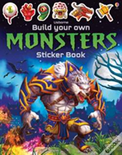 Wook.pt - Build Your Own Monsters Sticker Book